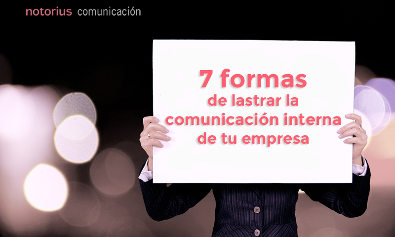 Errores frecuentes en comunicación interna