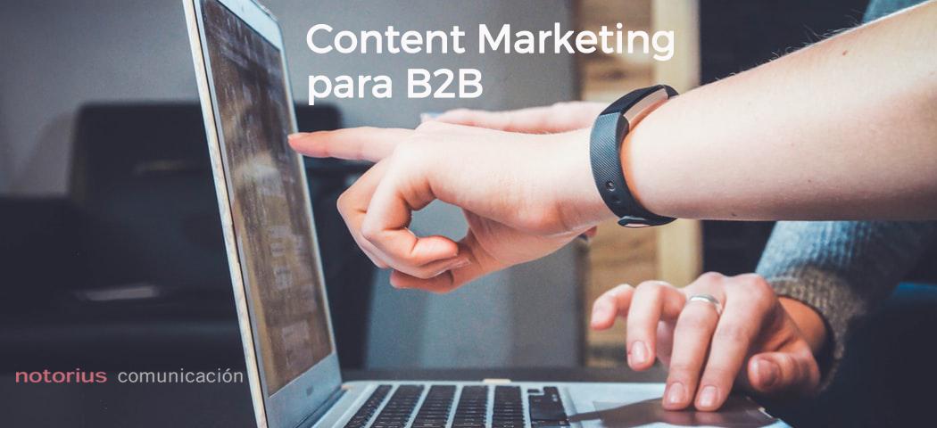 Content Marketing para B2B